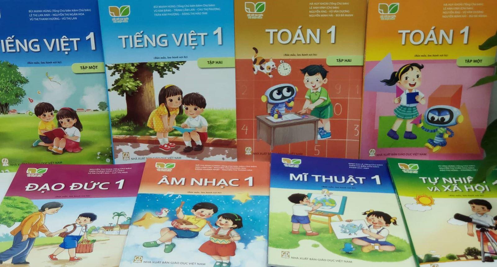 Giới thiệu Sách giáo khoa lớp 1 bộ sách Kết nối tri thức với cuộc sống